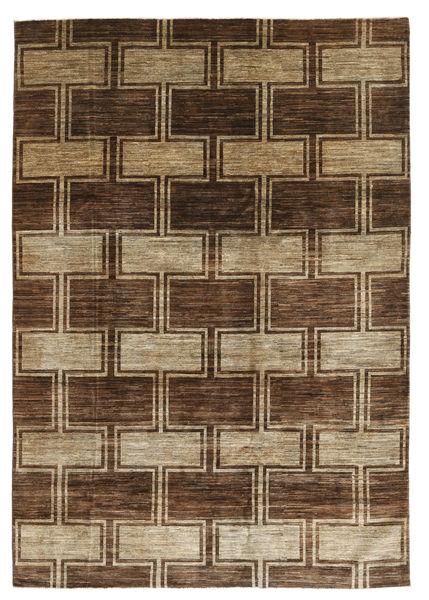 Ziegler Modern Rug 201X296 Authentic  Modern Handknotted Light Brown/Dark Brown (Wool, Pakistan)