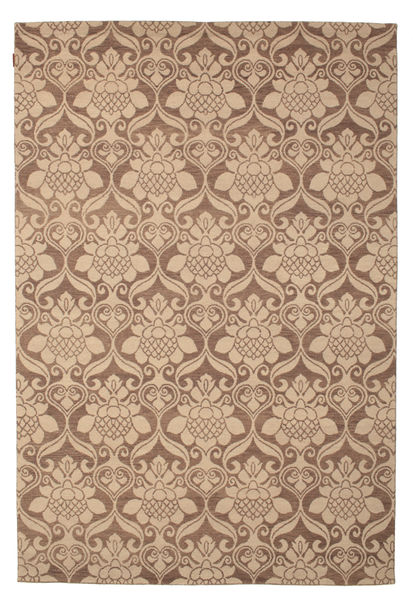 Himalaya Rug 183X273 Authentic  Modern Handknotted Light Brown/Brown/Dark Beige (Wool, India)