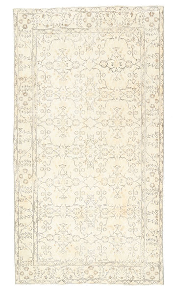 Colored Vintage Rug 115X208 Authentic  Modern Handknotted Beige/Dark Beige (Wool, Turkey)