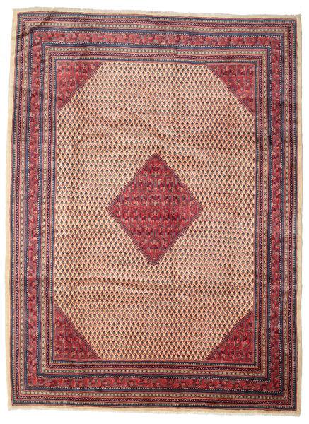 Sarough Mir Alfombra 260X350 Oriental Hecha A Mano Marrón/Rojo Oscuro Grande (Lana, Persia/Irán)