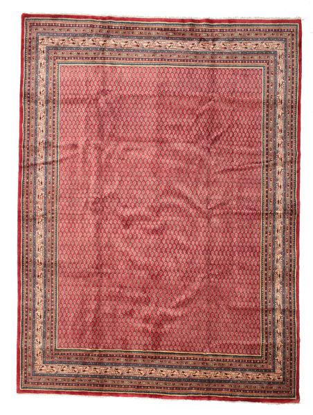 サルーク Mir 絨毯 277X375 オリエンタル 手織り 深紅色の/錆色 大きな (ウール, ペルシャ/イラン)
