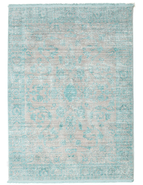 Maharani - grau / Blau Teppich RVD12132