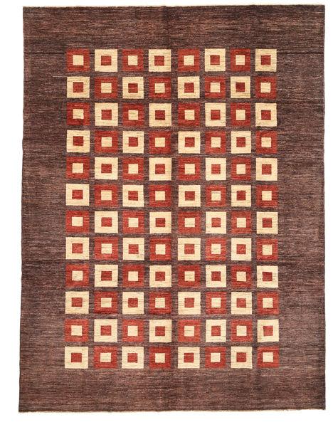 Ziegler Modern Rug 271X357 Authentic  Modern Handknotted Light Brown/Dark Brown Large (Wool, Pakistan)