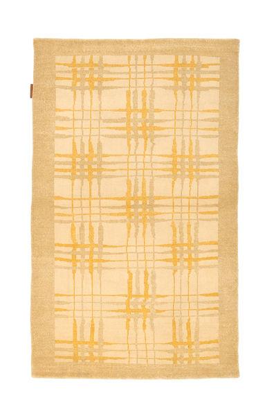 Ziegler Modern Rug 94X155 Authentic  Modern Handknotted Dark Beige/Beige (Wool, Pakistan)