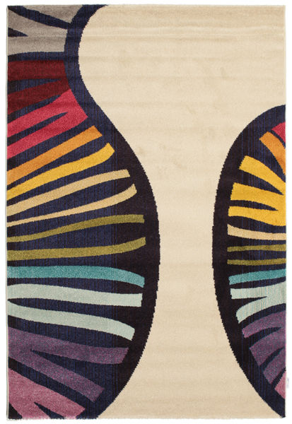 Vases Tapis 160X230 Moderne Beige/Noir ( Turquie)
