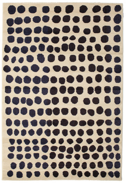 Square Teppe 160X230 Moderne Mørk Lilla/Lysbrun/Beige ( Tyrkia)