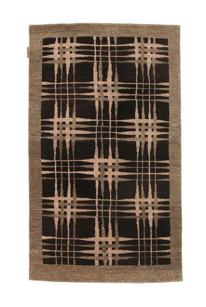 Ziegler Modern Rug 92X153 Authentic  Modern Handknotted Black/Brown (Wool, Pakistan)