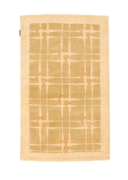 Ziegler Modern Rug 95X152 Authentic  Modern Handknotted Dark Beige/Beige/Light Brown (Wool, Pakistan)