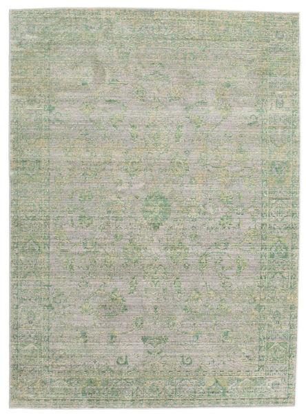Maharani - Harmaa / Vihreä-matto CVD12156