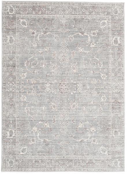Maharani - Szary Dywan 140X200 Nowoczesny Jasnoszary/Biały/Creme ( Turcja)