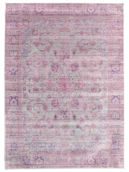 Maharani - Grå/Rosa Tæppe 140X200 Moderne Lyserød/Lyslilla ( Tyrkiet)