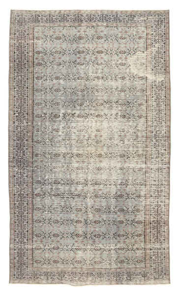 Colored Vintage Rug 151X256 Authentic  Modern Handknotted Light Brown/Light Grey (Wool, Turkey)