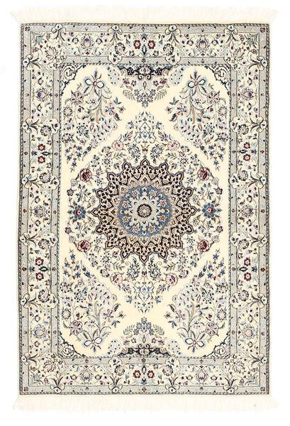 Nain 6La Matto 100X150 Itämainen Käsinsolmittu Beige/#missing(0,)# (Villa/Silkki, Persia/Iran)