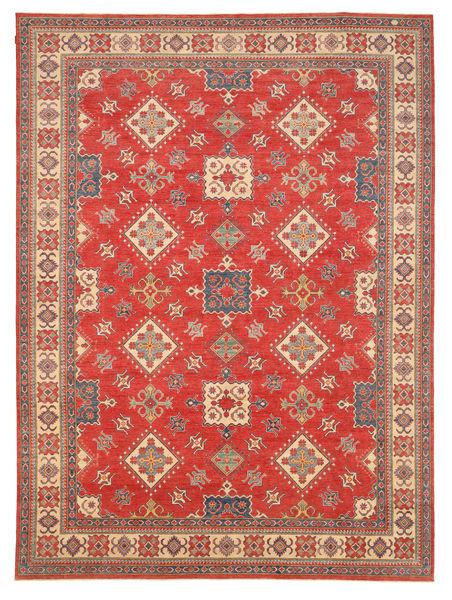 Kazak Matta 328X455 Äkta Orientalisk Handknuten Orange/Brun Stor (Ull, Pakistan)