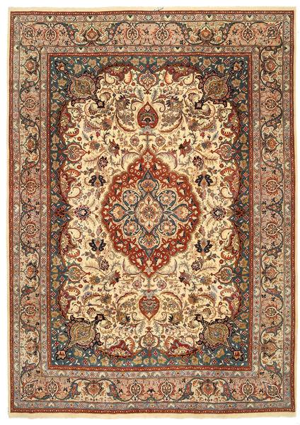Kashmar Patina Tappeto 250X353 Orientale Fatto A Mano Marrone Chiaro/Rosso Scuro Grandi (Lana, Persia/Iran)