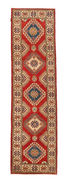 Kazak Matto 80X297 Itämainen Käsinsolmittu Käytävämatto Vaaleanruskea/Ruoste (Villa, Pakistan)