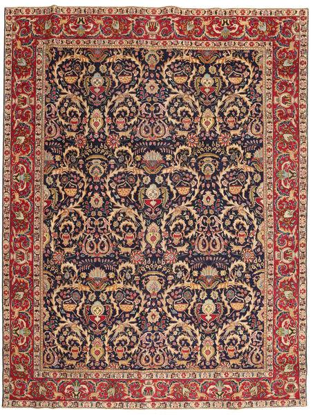 Kashmar Patina Alfombra 285X375 Oriental Hecha A Mano Rojo Oscuro/Marrón Claro Grande (Lana, Persia/Irán)