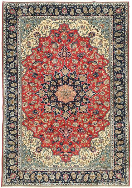 Najafabad Patina Matto 265X380 Itämainen Käsinsolmittu Tummanharmaa/Tummanpunainen Isot (Villa, Persia/Iran)
