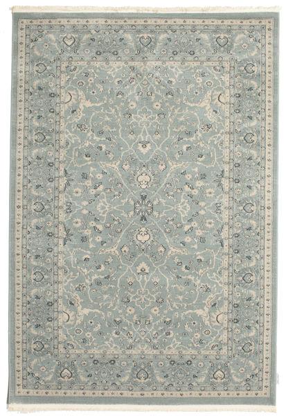 Ziegler Michigan - Hellblau Teppich  160X230 Orientalischer Hellgrau/Dunkelgrau ( Türkei)