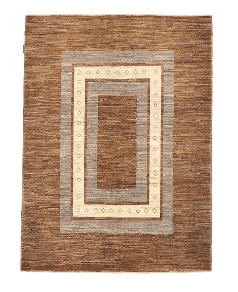 Ziegler Modern Rug 145X192 Authentic  Modern Handknotted Brown/Light Brown (Wool, Pakistan)