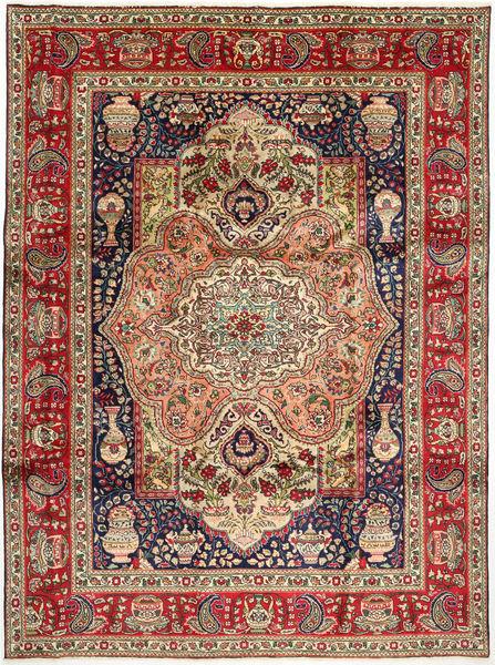 Kashmar Matto 244X340 Itämainen Käsinsolmittu Tummanpunainen/Tummansininen (Villa, Persia/Iran)