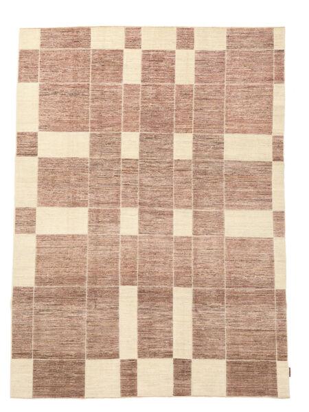 Ziegler Moderni Matto 199X272 Moderni Käsinsolmittu Vaaleanruskea/Vaaleanpunainen (Villa, Pakistan)