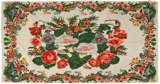 薔薇 キリム 絨毯 XCGZB1785