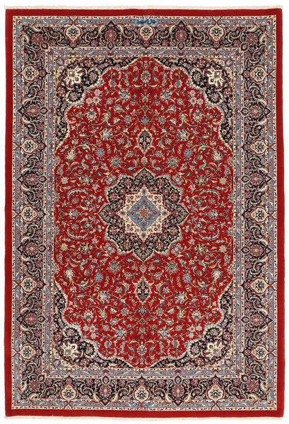 Ilam Sherkat Farsh Soie Tapis 173X258 D'orient Fait Main Rouge Foncé/Marron Foncé (Laine/Soie, Perse/Iran)