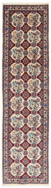 ヴァラミン 絨毯 73X291 オリエンタル 手織り 廊下 カーペット 濃い茶色/茶 (ウール, ペルシャ/イラン)