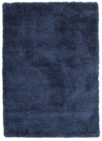 Shaggy Sadeh - Blå Teppe 120X170 Moderne Mørk Blå ( Tyrkia)