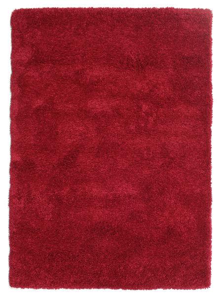 Shaggy Sadeh - Rudý Koberec 120X170 Moderní Červená/Tmavě Červená ( Turecko)