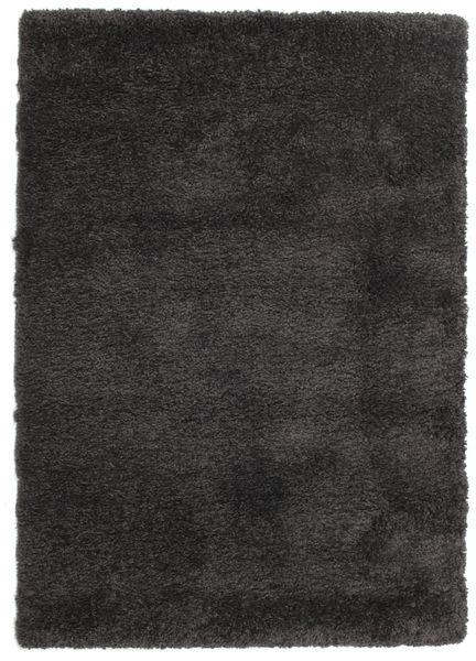 Shaggy Sadeh - Zwart / Grijs tapijt CVD13496