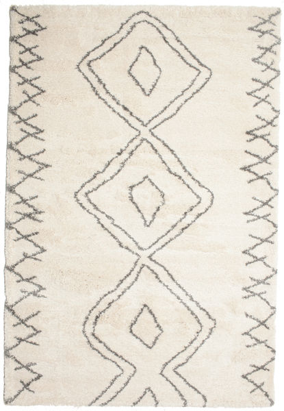 Berber Shaggy Massin Tapis 200X300 Moderne Beige/Gris Clair ( Turquie)