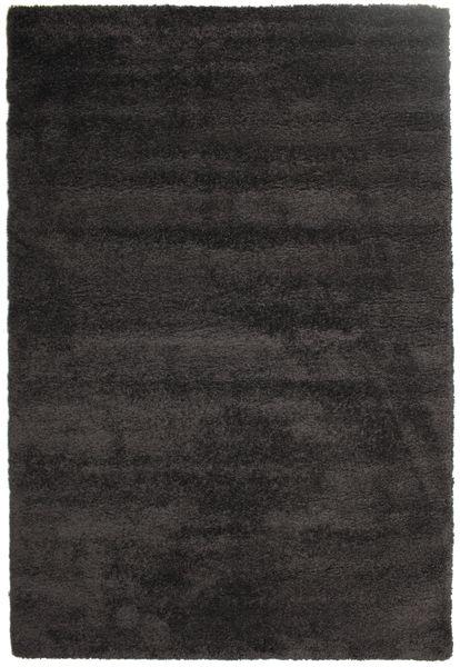 Shaggy Sadeh - Fekete/Szürke Szőnyeg 200X300 Modern Fekete/Sötétszürke ( Törökország)