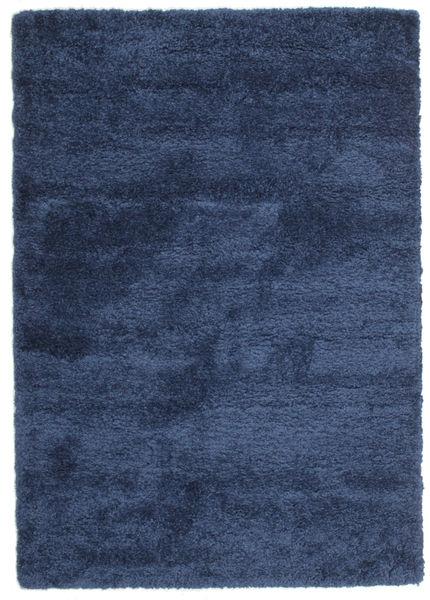 Shaggy Sadeh - Blau Teppich  160X230 Moderner Dunkelblau/Blau ( Türkei)