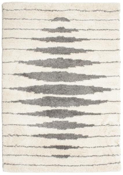 Shaggy Sonar Tapis 160X230 Moderne Beige/Gris Clair ( Turquie)