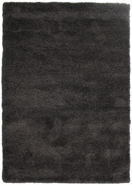Shaggy Sadeh - Musta/Harmaa Matto 160X230 Moderni Musta/Tummanruskea ( Turkki)