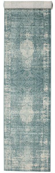 Jacinda - Clair Tapis 80X400 Moderne Tapis Couloir Gris Clair/Gris Foncé ( Turquie)