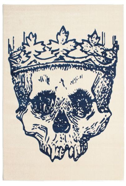 Hamlet Flat Weave - Blå teppe CVD13196