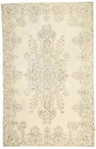 カラード ヴィンテージ 絨毯 188X298 モダン 手織り ベージュ/暗めのベージュ色の (ウール, トルコ)