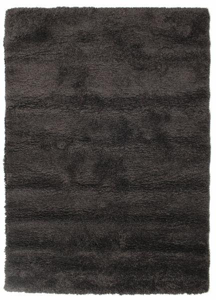 Shaggy Sadeh - Black/Grey Rug 140X200 Modern Black/Dark Grey ( Turkey)