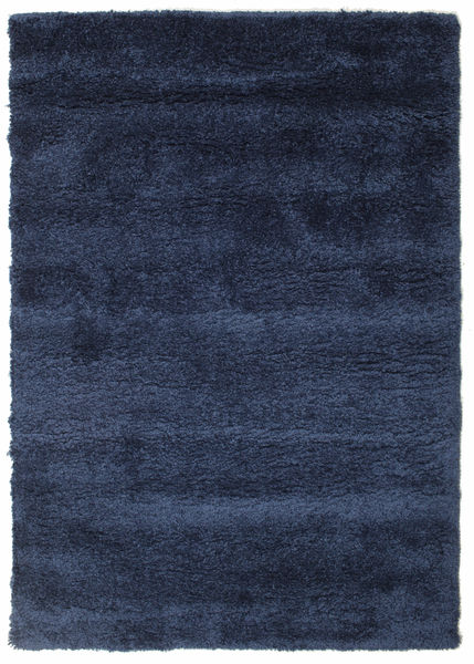 Shaggy Sadeh - Blue Rug 140X200 Modern Dark Blue ( Turkey)