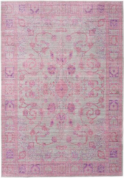 Maharani - Grijs / Roze tapijt CVD12165