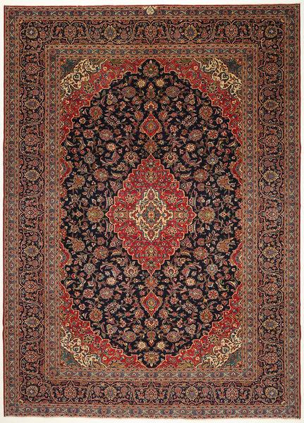 Keshan Patina Matto 287X405 Itämainen Käsinsolmittu Tummanpunainen/Musta Isot (Villa, Persia/Iran)