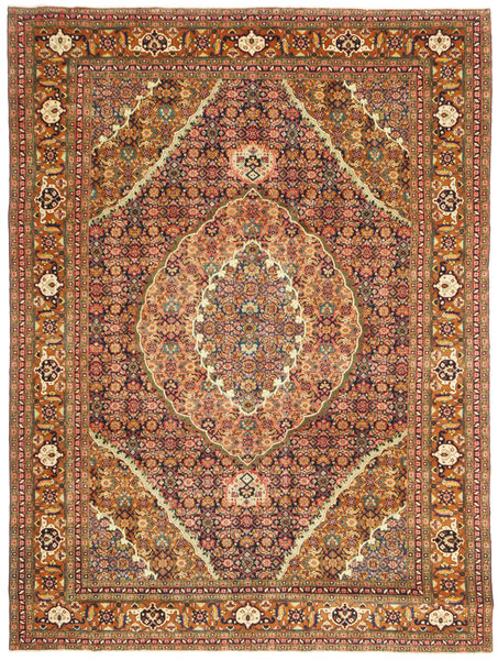 Ardebil Patina Rug 227X308 Authentic  Oriental Handknotted Brown/Crimson Red (Wool, Persia/Iran)