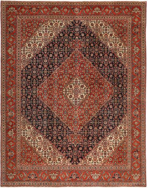 Tabriz Patina Matto 255X330 Itämainen Käsinsolmittu Tummanpunainen/Ruskea Isot (Villa, Persia/Iran)