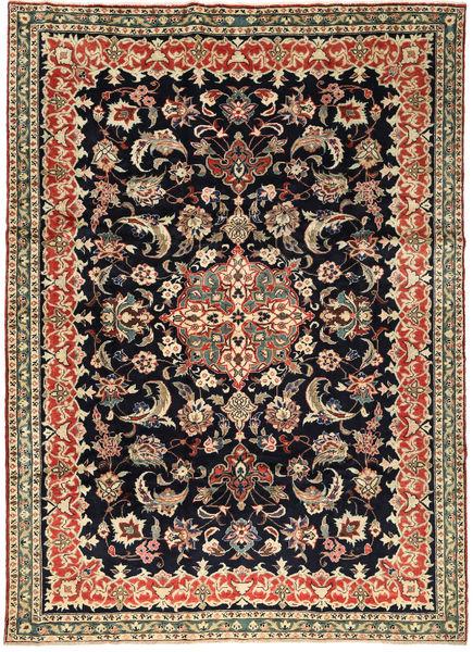 Bakhtiar Matta 240X330 Äkta Orientalisk Handknuten Mörklila/Ljusbrun (Ull, Persien/Iran)