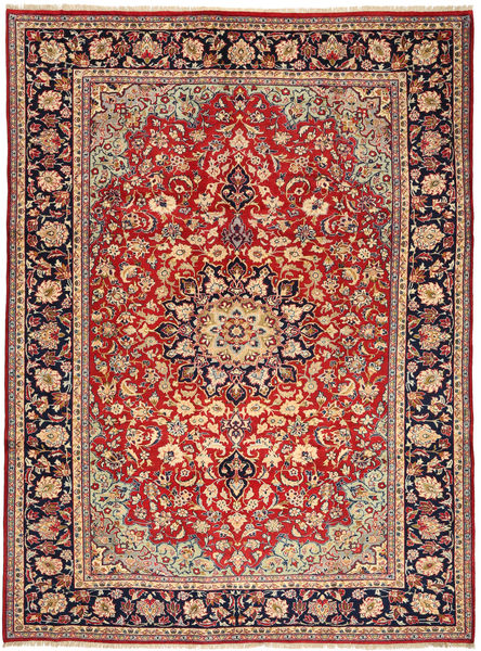 Najafabad Rug 250X347 Authentic  Oriental Handknotted Light Brown/Rust Red Large (Wool, Persia/Iran)