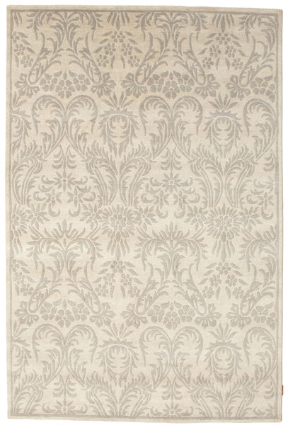 Himalaya Rug 182X273 Authentic  Modern Handknotted Light Grey/Beige (Wool, India)