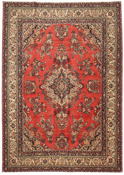 Hamadan Patina Matto 282X400 Itämainen Käsinsolmittu Vaaleanruskea/Ruoste Isot (Villa, Persia/Iran)